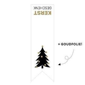 Sticker Vaantje Kerstgeschenk (kerstboom)