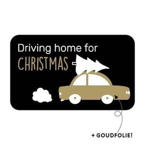 Sticker Driving home for christmas