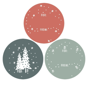 Stickers Multi trees