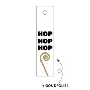 Cadeaulabel Hop hop hop