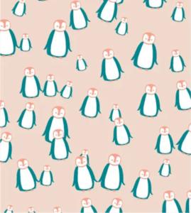 Cadeaupapier Pinguïns nude