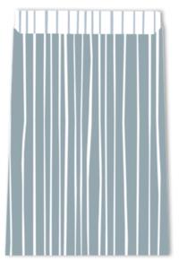 Cadeauzakjes Lines greyblue  12 x 19