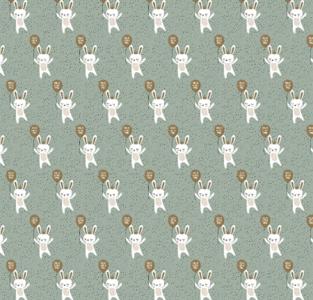 Cadeauzakjes Baby bunny 17 x 25