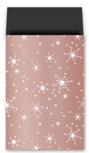 Cadeauzakjes Reach for the stars rosé goud 17 x 25