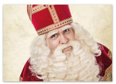 Ansichtkaart Sinterklaas