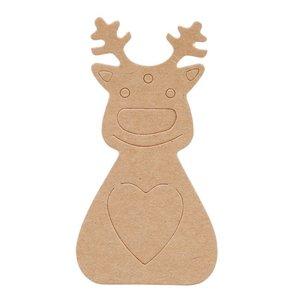 Cadeaulabel Rudolph
