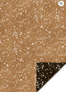 Cadeaupapier Granite gold/black