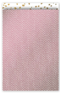 Cadeauzakjes Connecting dots roze 17 x 25