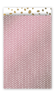 Cadeauzakjes Connecting dots roze 12 x 19