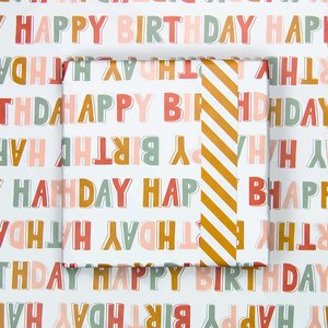 Cadeaupapier Happy Birthday