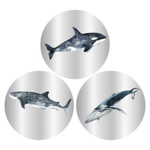 Stickers Sea life