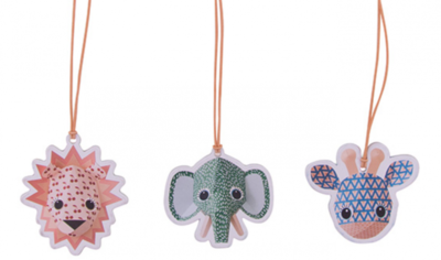 Studio Ditte Wild animals papertags set