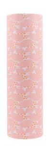 Cadeaupapier Jessica Nielsen Giraffe lemonade pink