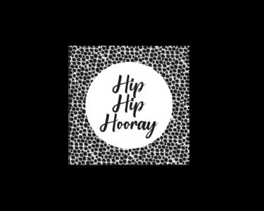 Sticker Hip hip Hooray
