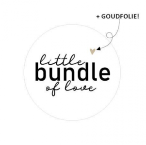 Sticker Little bundle of love