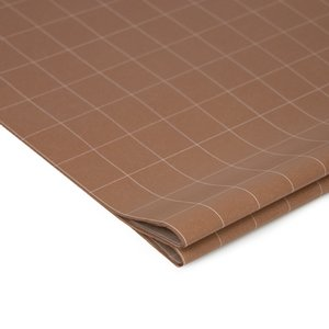 Vloeipapier Grid terra brown
