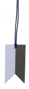 Paper Tag Flag Duo Frosty Blue/Rosemary Green