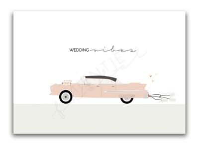 Ansichtkaart Wedding vibes