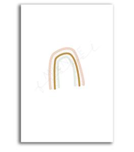 Ansichtkaart Regenboog