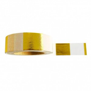 Masking tape Goldfoil white
