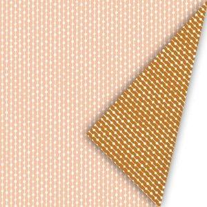 Cadeaupapier Connecting dots Natural blush/roest