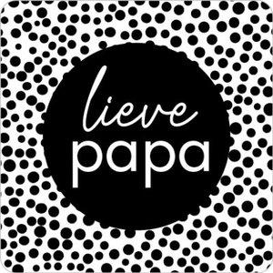 Sticker Lieve papa (dots)