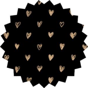 Sticker Litte hearts (zegel)