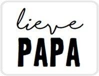 Sticker Lieve papa