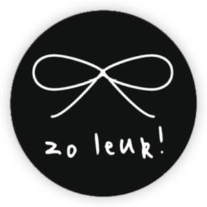 Sticker Zo leuk!