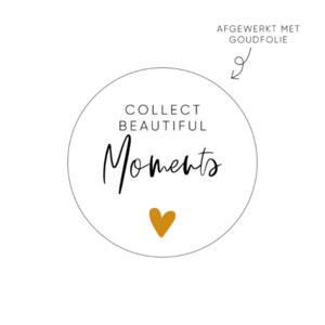 Sticker Collect beautiful moments
