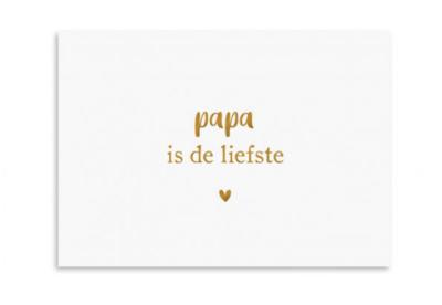 Ansichtkaart Papa is de liefste