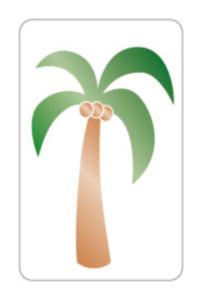 Sticker Palmboom
