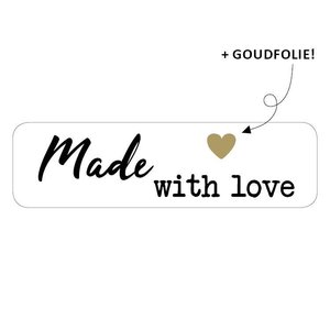 Sticker Made with love (smal)