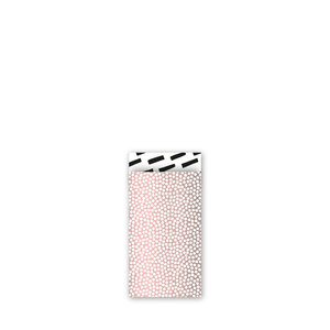 Cadeauzakjes Cozy cubes oudroze/zwart/wit 7 x 13