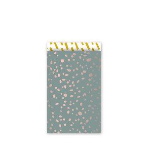Cadeauzakjes Colorful terrazzo wax-oudroze-oker 12 x 19