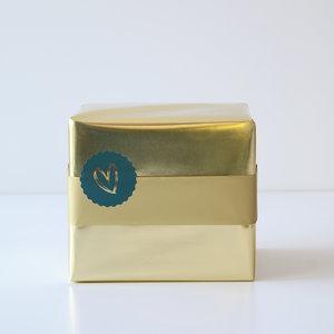 Cadeaupapier Gold glossy/matt