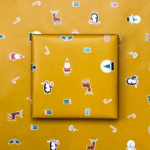 Cadeaupapier X-mas icons