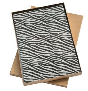 Vloeipapier Look's like a zebra