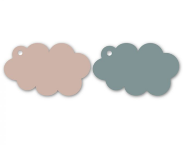 Cadeaulabel Cloud pink