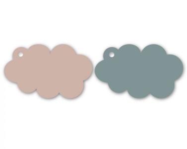 Cadeaulabel Cloud blue