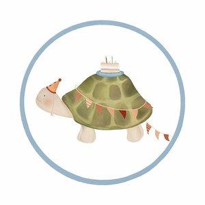 Sticker Schildpad (middel)