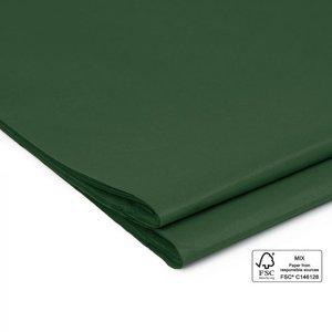 Vloeipapier Uni warm green