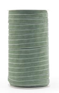 Velvet ribbon 9mm minty green