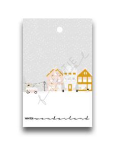 Cadeaukaartje Winter wonderland