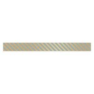 Krullint Stripes gold/light blue
