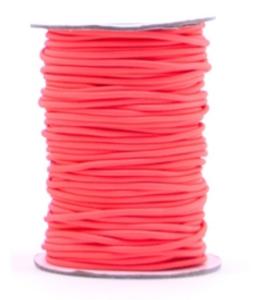 Elastic band Neon orange 3mm
