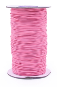 Elastic band Bubbly pink