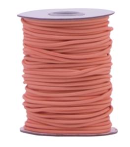 Elastic band Peachy pink 3mm