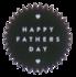 Sticker Happy fathers day _