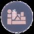 Sticker Golven mix_